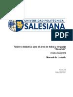 Manual_Usuario Tablero Didactico Hope