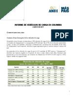 5. Informe de Vehículos de Carga a Mayo 2017