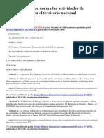 LEY N° 26221, Ley Orgánica de Hidrocarburos- spij- 29-06-17