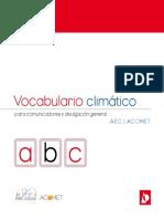 Vocabulario Climatico PDF
