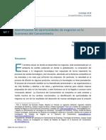Identificación de oportunidades de negocios en la economía del conocimiento