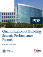 FEMA P695 - Quantification of Building Seismic Performance Factors