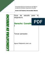 Derechoconstitucional i