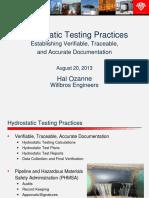 Hydrotest Presentation REV1
