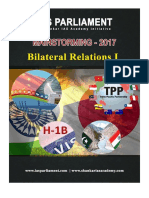 Bilateral Relations Part I