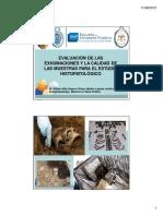 Evaluacion de Las Exhumaciones