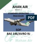Sop Bae 146 Avro Rj 2 Part