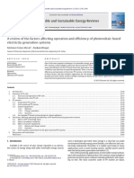 A review of the factors affecting operation and efficiency of photovoltaic based electricity generation systems.pdf