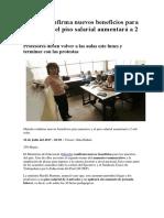 Minedu Confirma Nuevos Beneficios Para Maestros y El Piso Salarial Aumentará a 2 Mil Soles