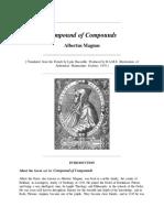 Albertus Magnus Compound of Compound