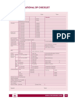 B14 Pre-operational DP checklist.pdf