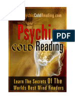 The Handbook Of Psychic Cold Reading Pdf