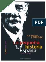 La Pequena Historia de Espana Free