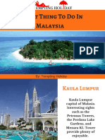1o  Best Thing To Do In malaysia