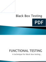 6. Black Box Testing Overview