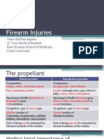 Firearm Injuries