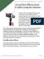 14 accessoires iPhone pour des photos et vidéos toujours réussies ! - iPhone 7, 6s, iPad et Apple Watch
