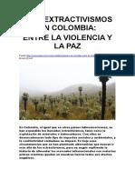 Postextractivismos en Colombia