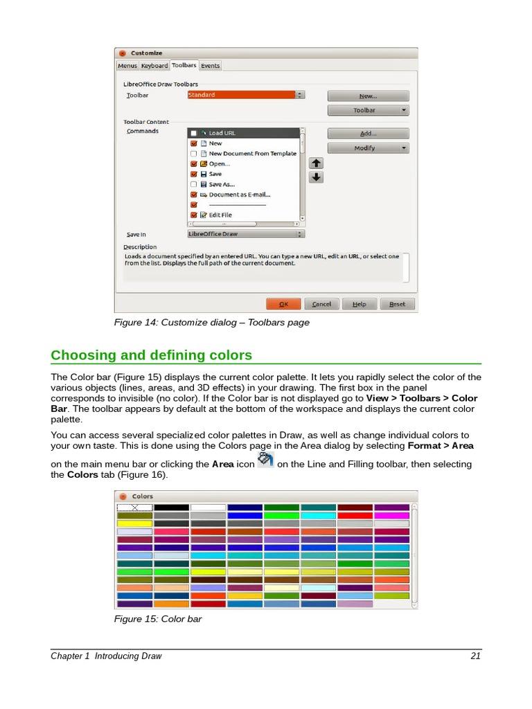 Libreoffice Draw 2 Shape Icon Computing Block Diagram