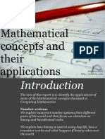 Mathematical Concepts and their Applications - Number System