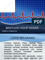 Presentasi Bantuan Hidup Dasar REVISI Dr Aksa