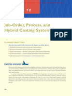 13. Chapter 12 - Job-Order-Process and Hybrid Costing Systems