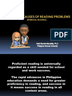 2 Nature of Reading Poblems