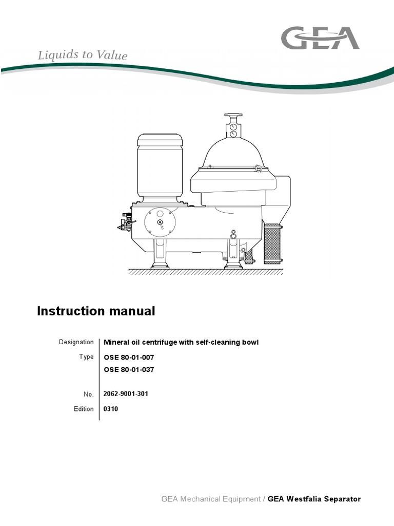 westfalia separator o m manual model oso 80 01 007 switch