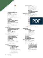 Subject-Topics for CE Boards (Prepare)