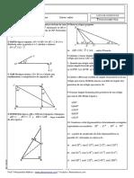 Lista 2 - Trigonometria