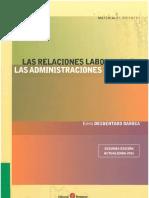 Relaciones laborales en las Administraciones Publicas