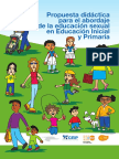 Guía Educación SexualPropuesta didáctica para el abordaje de la educación sexual en Educación Inicial y Primaria - Uruguay