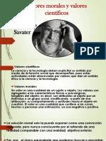 Valores Morales y Valores Científicos