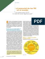 Evaluar El Potencial de Las TIC en El Mundo (Paper)