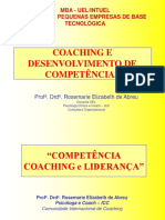 Coaching e Avaliao de Competencias