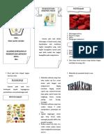 Leaflet Bahan