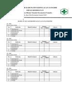 7.4.1.3 Bukti Evaluasi Kesesuaian Layanan Klinis