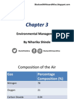 IGCSE Environmental Management Chapter 3 Notes