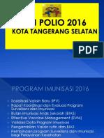 Materi Pin Polio Puskesmas 2016