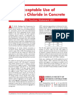 PS 31 Acceptable Use Calcium Chloride Concrete