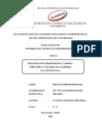 Informe Final Practicas Pre Profesionales