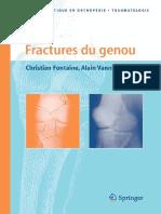 Christian Fontaine, Alain Vannineuse-Fractures Du Genou (Approche Pratique en Orthopedie-traumatologie) (2005)