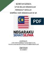 Kertas Kerja Bulan Kemerdekaan 2016