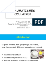 Les Traumatismes Oculaires