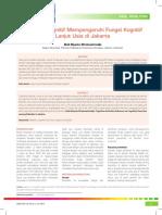 05_224Aktivitas Kognitif Mempengaruhi Fungsi Kognitif Lanjut Usia di Jakarta.pdf