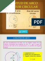 Unidad 03 Longitud de Arco y Sector Circular