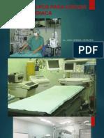 Equipos en Cirugia Cardiaca.