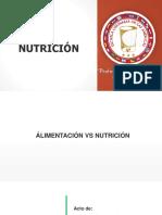 Presentación NUTRICIÓN