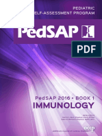Pedsap 1 Immunology