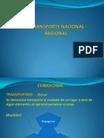 Bloque 5 Transporte Regional- Nacional